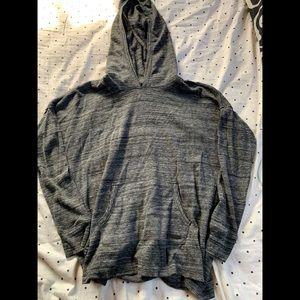 Calvin Klein shirt with hood!